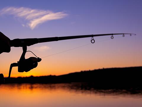 lac pêche