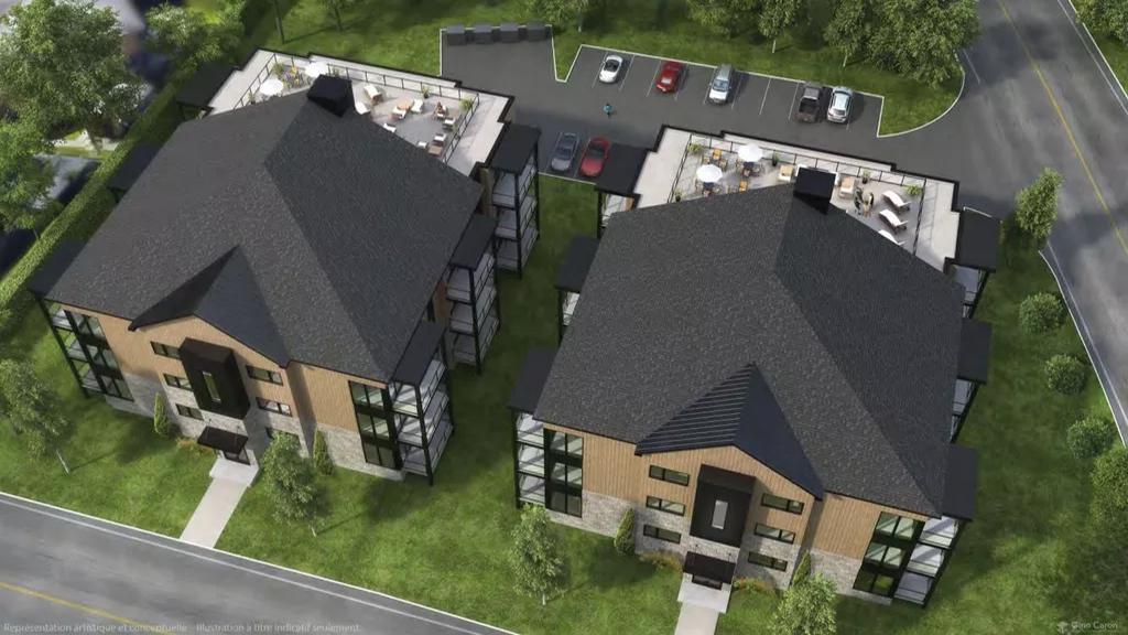 Projet résidentiel soumis à la consultation à Magog