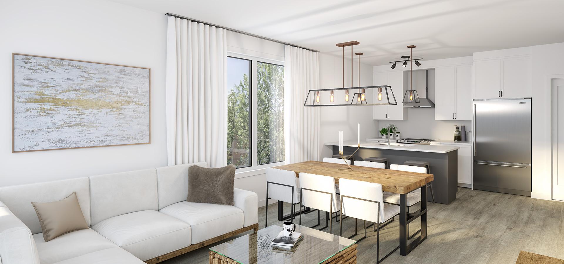 Logement | salon - cuisine