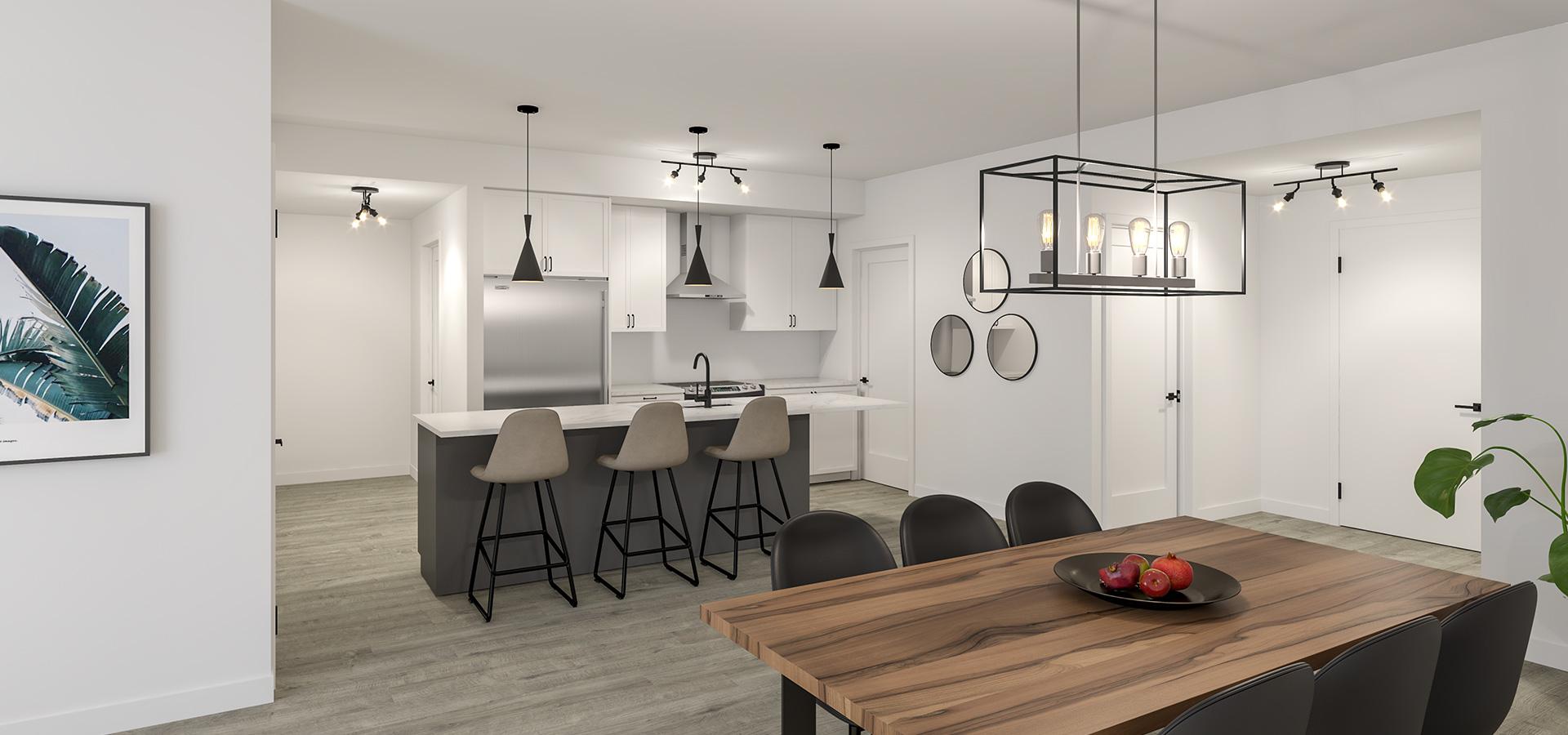 Logement | cuisine - salle à manger